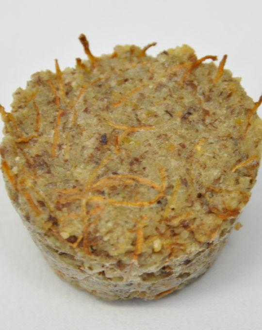 Karotten Mandelmuffin
